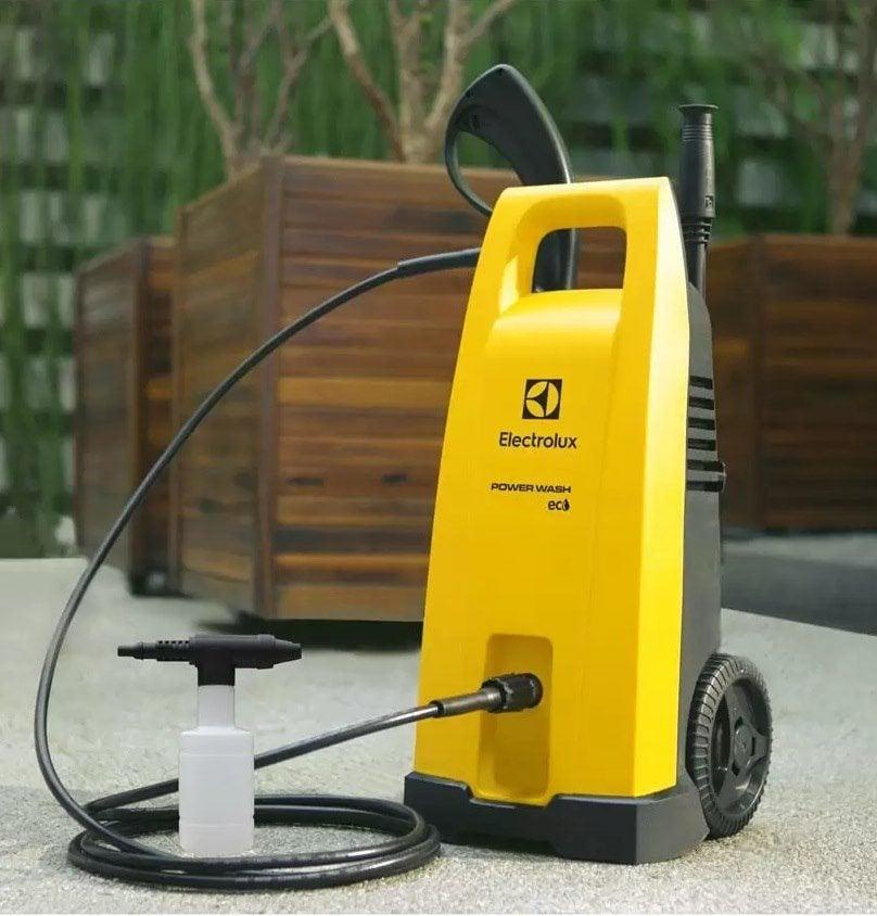 Lavadora de Alta Pressão Electrolux Powerwash Eco – 1800 Libras Mangueira 3m