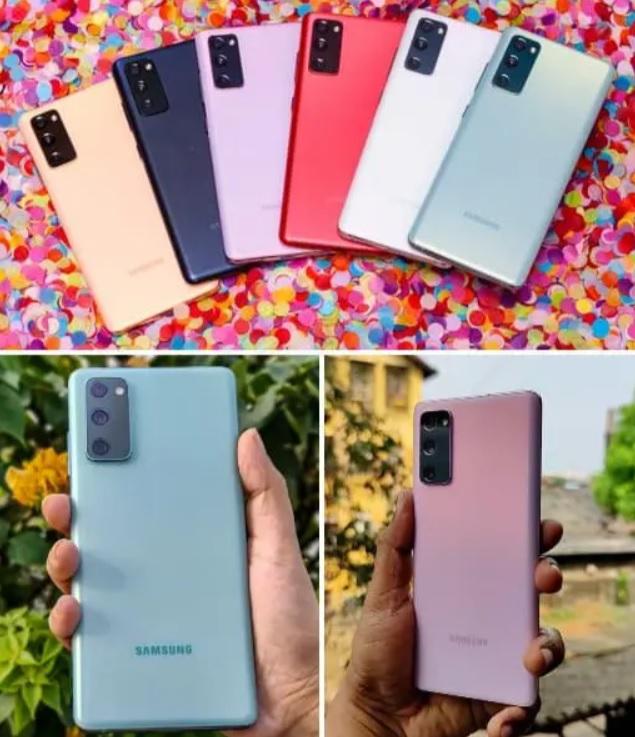 Smartphone Samsung Galaxy S20 Fe 128GB Octa-Core 2.73GHz Dual Chip Wi-Fi 4G Tela 6.5″ Câmera Tripla Traseira de 12MP Ultra Wide + 12MP OIS + 8MP Telephoto – Cloud Mint