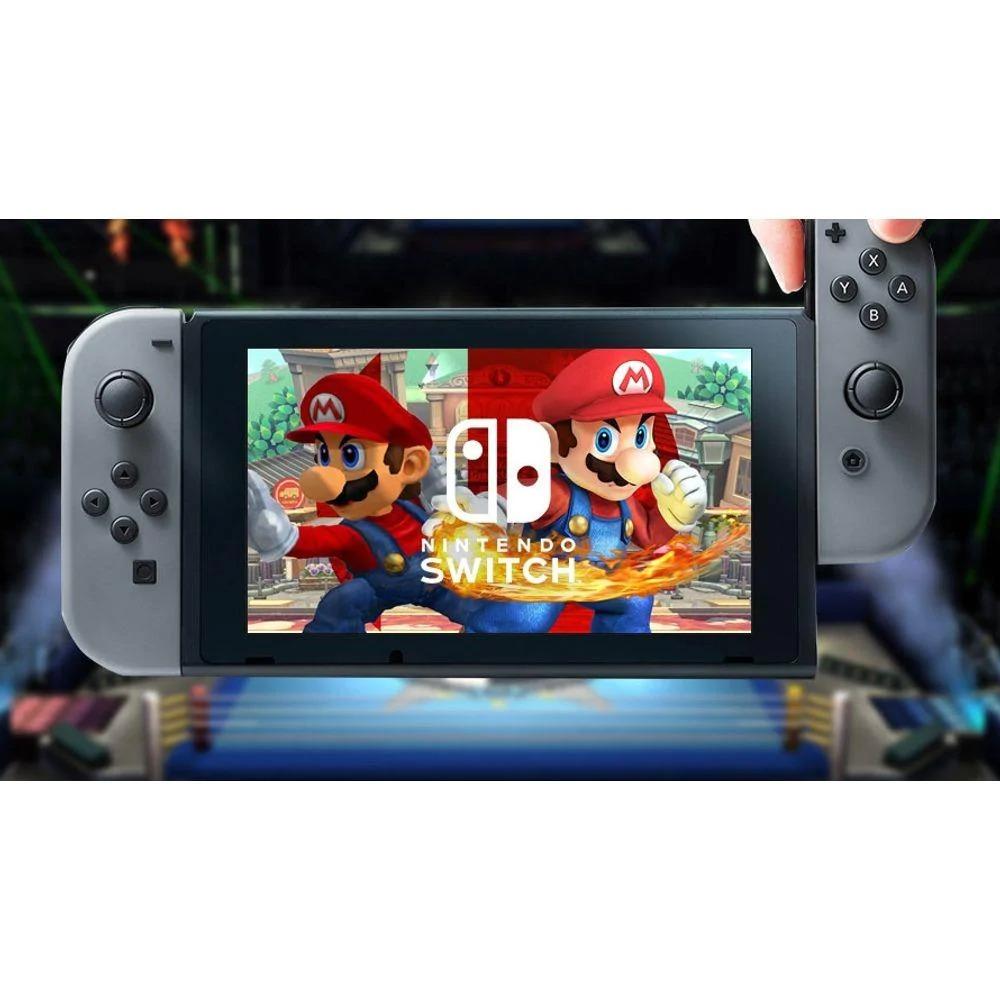 Console Nintendo Switch Neon Bateria Estendida Azul,Vermelho Bivolt