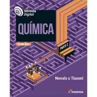 Livro Vereda Dig Quimica Novais & Tissoni - 1ª Ed.
