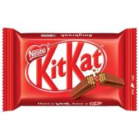 7 Unidades Chocolate Kitkat 4 Fingers Ao Leite 41,5g