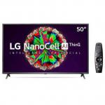 Smart TV NanoCell 4K LG LED 50″ com ThinQAI, Google Assistente e Wi-Fi – 50NANO79SND – Magazine