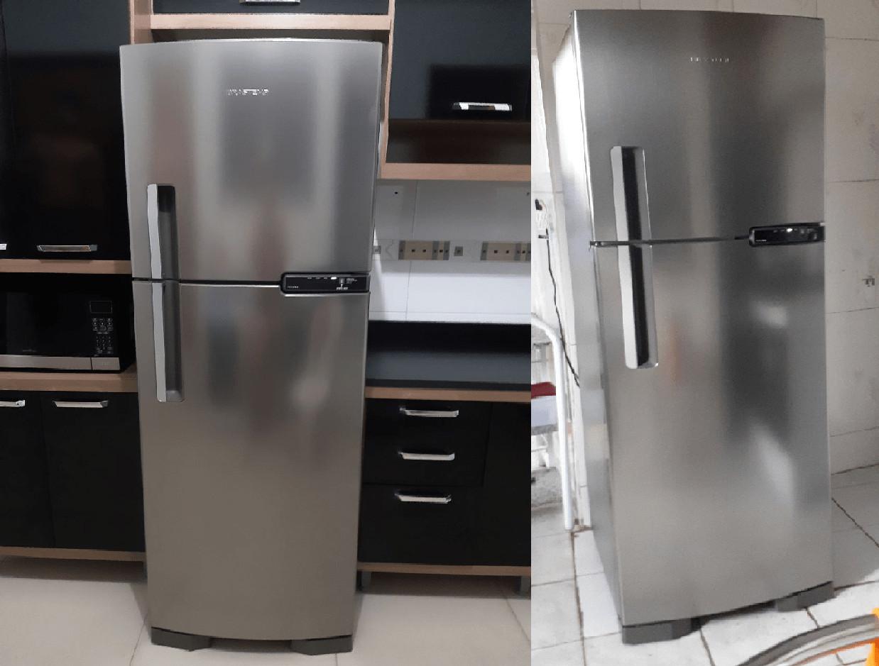Geladeira/Refrigerador Brastemp Frost Free Duplex – 375L BRM44 HKANA 110V
