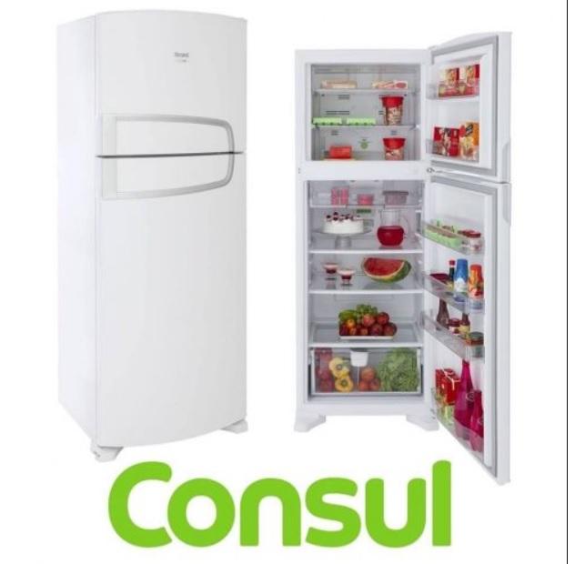Geladeira/Refrigerador Consul Frost Free Duplex – Branca 340L CRM39ABBNA