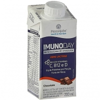 Bebida Láctea Piracanjuba Imunoday Sabor Chocolate Zero Lactose 200ml