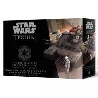 Jogo de Tabuleiro Star Wars Legion Wave 4: Tanque de Assalto e Combate Ocupador OX-225 GAVW Expansão de Unidade - Galápagos Jogos