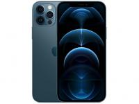 "iPhone 12 Pro Apple 128GB Azul-Pacífico 6,1"" – Câm. Tripla 12MP iOS – Magazine"