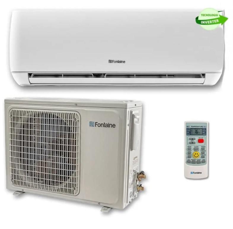 Ar Condicionado Split Hi Wall Inverter 12.000 Btus 220 V Frio (100136) – Fontaine