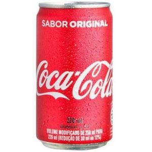 11 Unidades - Coca Cola lata 220ml