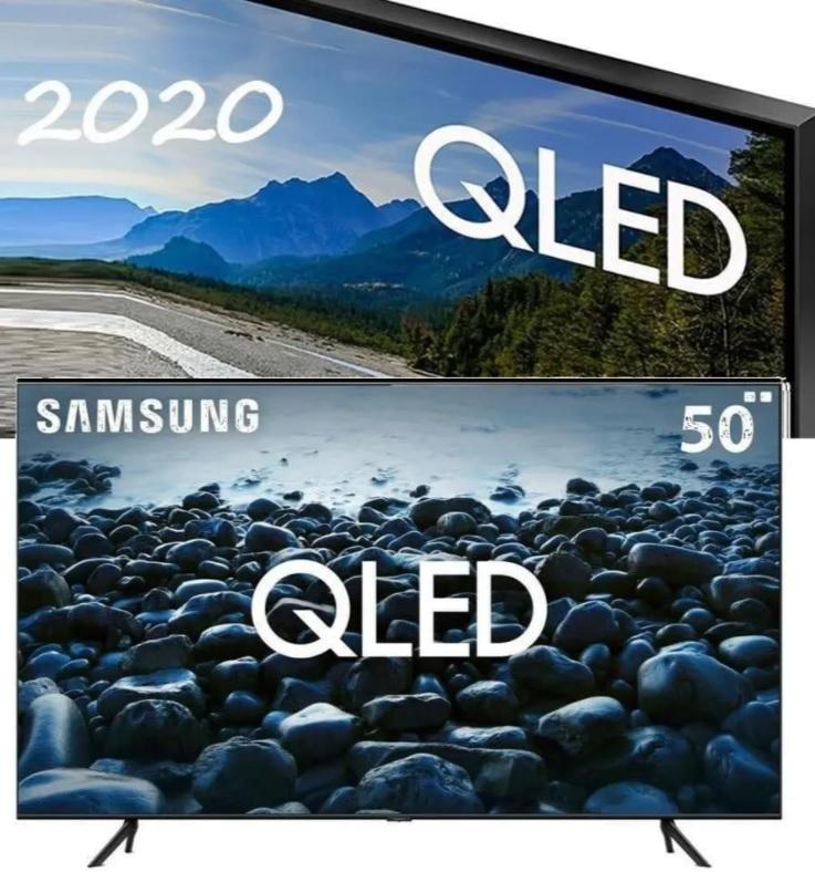 """Smart TV 4K QLED 50"""" Samsung 50Q60TA – Wi-Fi Bluetooth HDR 3 HDMI 2 USB"""