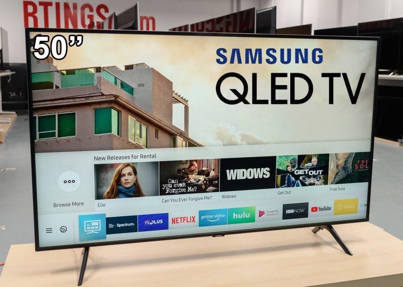 """Smart TV 4K QLED 50"""" Samsung 50Q60TA – Wi-Fi Bluetooth HDR 3 HDMI 2 USB 50″"""