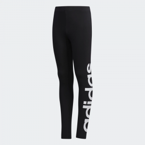Calça Legging Logo Adidas - Infantil
