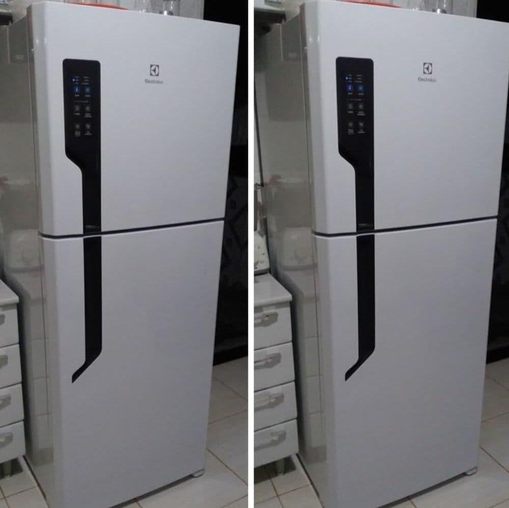 Geladeira/Refrigerador Electrolux Automático – Duplex Branca 431L TF55 Top Freezer