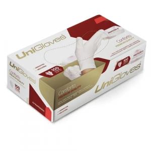 Luva Premium Quality Unigloves Sem Pó M 100 Unidades