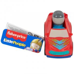 Mini Veículo com Figura - Little People - Super Veículo - Fisher-Price