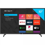 Smart TV 32″ AOC ROKU LED HD 3 HDMI 1 USB Wi-Fi 32S5195/78G