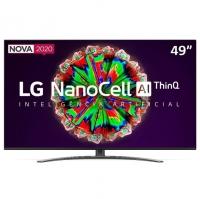 Smart TV LED 49'' LG 49NANO81 Ultra HD 4K NanoCell IPS WiFi Bluetooth HDR