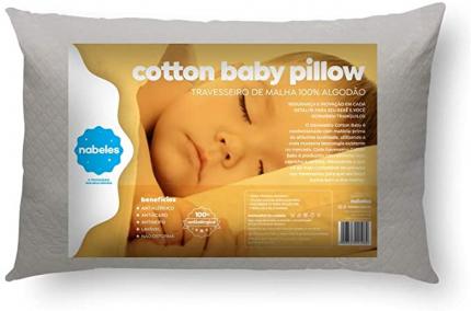Travesseiro Cotton baby- Ecológico, Nabeles