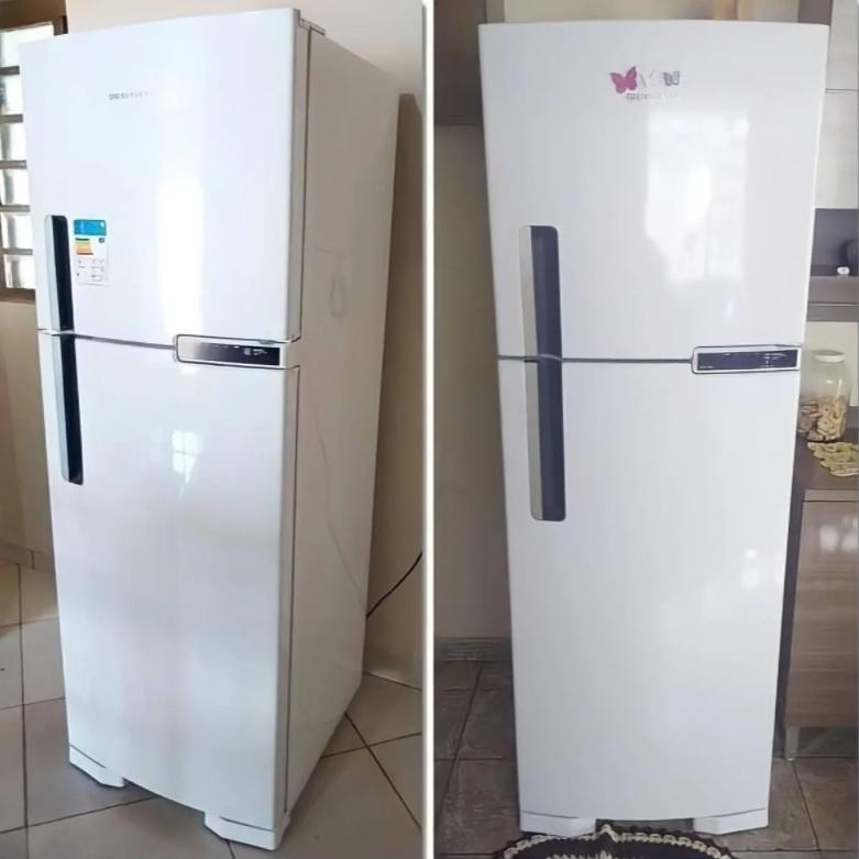 Geladeira Brastemp Frost Free Duplex 2 Portas BRM44HB 375 Litros Branco