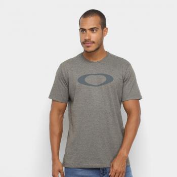 Camiseta Oakley O-Ellipse Tee Masculina – Verde escuro