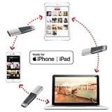 Pendrive SanDisk Ixpand Iphone e Ipad 128GB
