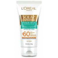 Protetor Solar Facial L'Oréal Expertise Toque Seco FPS60 50g