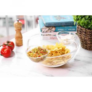 Saladeira e Petisqueira Acrílico - La Cuisine
