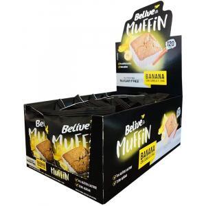 Caixa Muffin Banana com Canela e Chia Zero Açúcar 40g com 10 Unidades