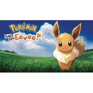 Jogo Pokémon: Let's Go Eevee! - Nintendo