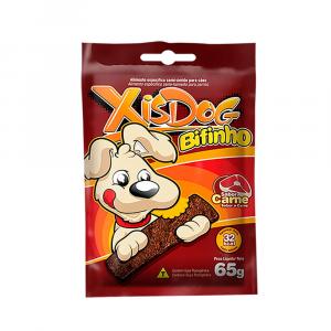Petisco Bifinho XisDog Carne 65g