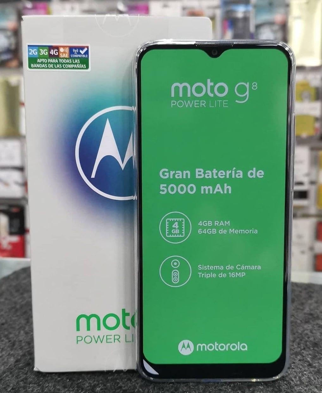 Smartphone Motorola Moto G8 Power Lite 64GB Tela 6.5 Pol. Câmera Tripla 16MP Selfie 8MP Dual Chip
