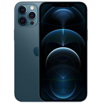 iPhone 12 Pro Max 256GB Azul Pacífico iOS 5G Wi-Fi Tela 6.7″ Câmera – 12MP + 12MP + 12MP + Sensor LiDAR – Apple