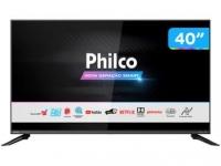 "Smart TV DLED 40"" Philco PTV40G60SNBL – Wi-Fi 3 HDMI 2 USB"