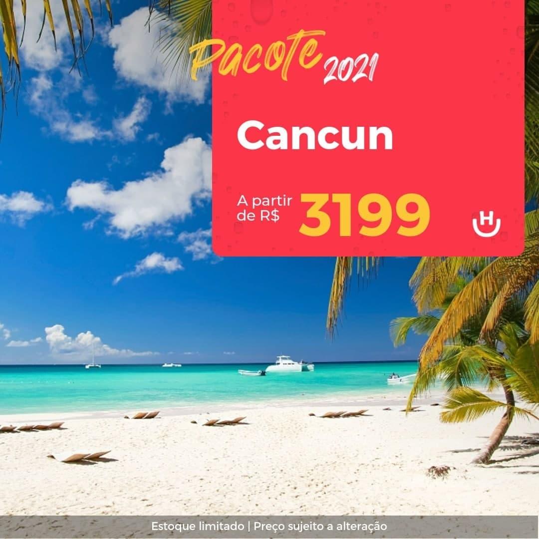 Pacote Cancún – Segundo Semestre 2021