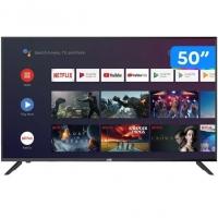 "Smart TV 4K DLED 50"" JVC LT-50MB508 Android - Wi-Fi Bluetooth HDR 4 HDMI 3 USB"