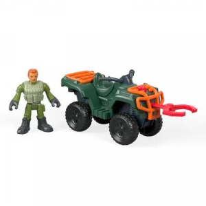 Figura Básica Imaginext Jurassic World 2 Quadrimoto - Fisher-Price