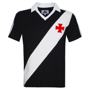 Camisa Polo Liga Retrô Vasco 1989 Masculina - Preto