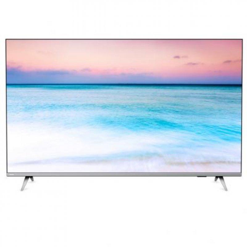 Smart TV LED 58″ Philips 58PUG6654/78 Ultra HD 4k Design sem Bordas Wi-fi Bluetooth 3 HDMI 2 USB