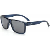 Óculos De Sol Mormaii Lagos Azul Translucido Brilho L Cinza