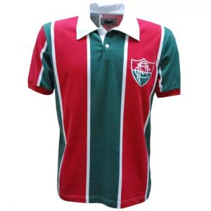 Camisa Liga Retrô Fluminense 1913 - Vermelho e Verde