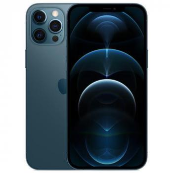 "iPhone 12 Pro Max Apple 256GB Azul-Pacífico Tela de 6,7"", Câmera Tripla de 12MP, iOS"