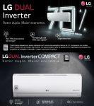 Ar Condicionado Split LG Compact 12000 Btus Dual Inverter Frio 220V S4UQ12JA3AD.EB2GAMZ