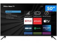 "Smart TV 4K DLED 50"" Philco PTV50RCG70BL – Wi-Fi HDR 4 HDMI 2 USB"