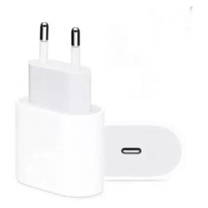 Fonte Carregador Original Iphone XR 11 12 12 Pro Max  USB-c 20w Power Adapter - Aplle