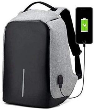 Mochila Anti-furto Com Compartimento P/Notebook Saida USB Para Carregamento De Dispositivos 803261