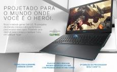 Notebook Gamer Dell i5 8GB 512GB SSD GTX 1650