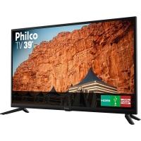 TV LED 39 Philco PTV39F61D HD com Conversor Digital Integrado 2 HDMI 1 USB Recepção Digital