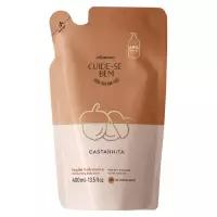 Refil Cuide-se Bem Castanhita Loção Hidratante Desodorante Corporal, 400ml