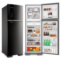 Refrigerador Brastemp Inox Frost Free BRM54HK 400 Litros 2 Portas