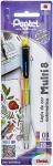 Lápis De Cor Automático, Pentel, Multi8, 2.0mm, 8 Cores